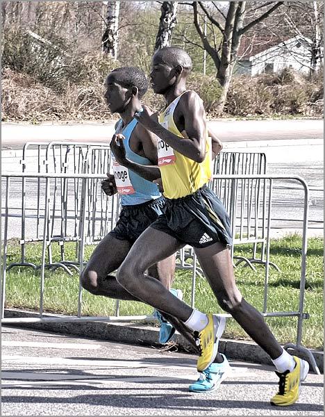 Eliud Kipochoge Hamburg Marathon 2013