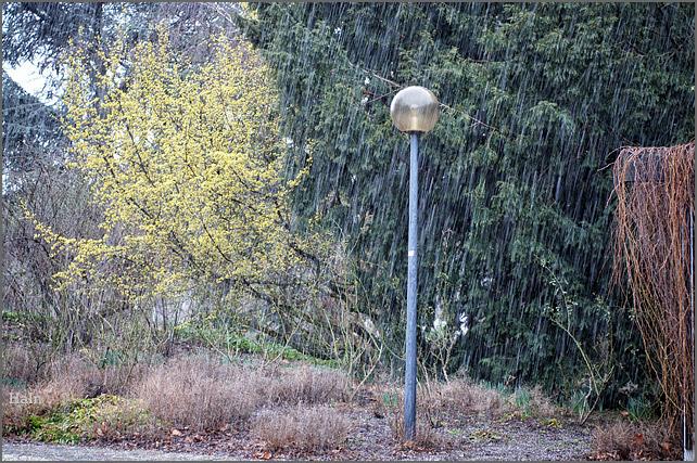 bindfadenregen