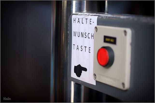 haltewunsch